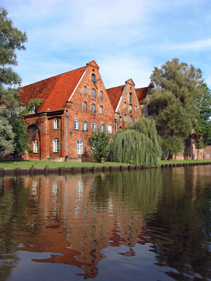Download Luebeck stock photo. Image of architecture, navigable - 16184052
