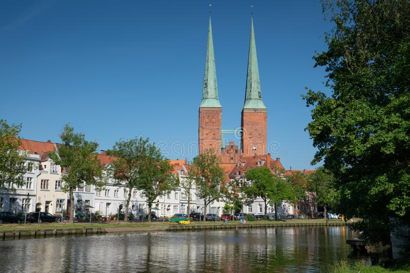 Luebeck, Allemagne, l'Europe images stock