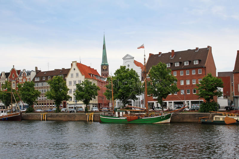 Download Luebeck city stock image. Image of architecture, historic - 23776929