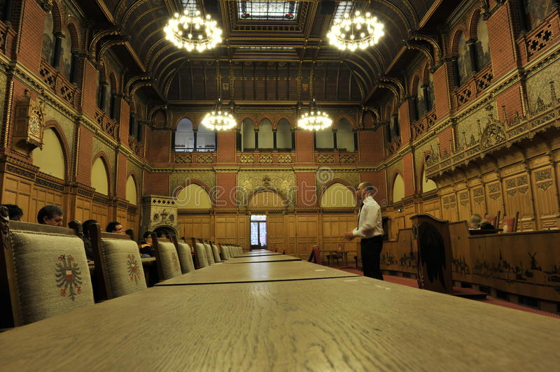 Download Luebeck, Town Hall, Conference Room Editorial Image - Image of tourism, guide: 22735210