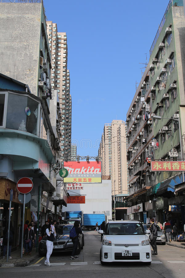 Luen在粉岭的Wo惠山 免版税库存图片