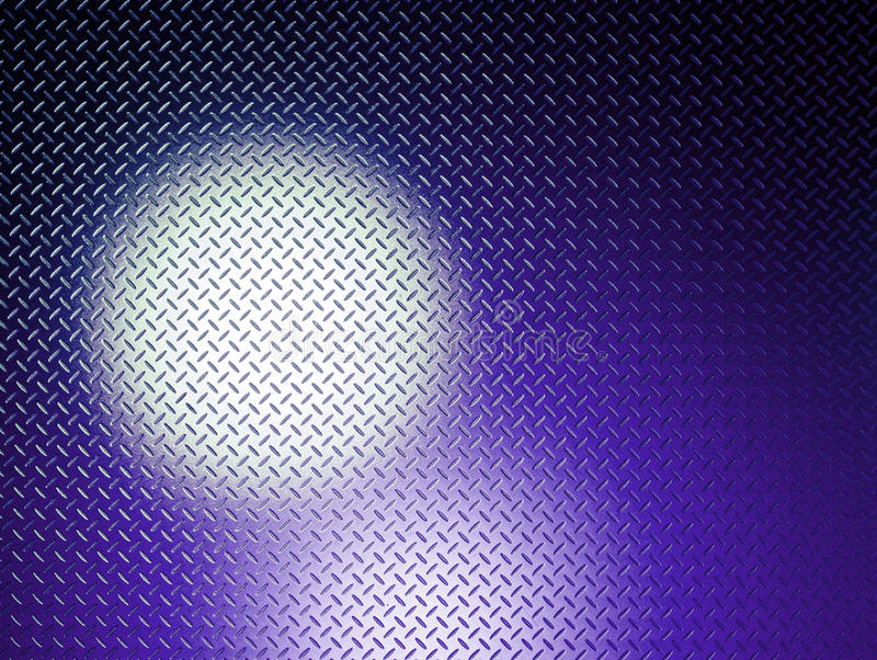 Lueur bleue image stock