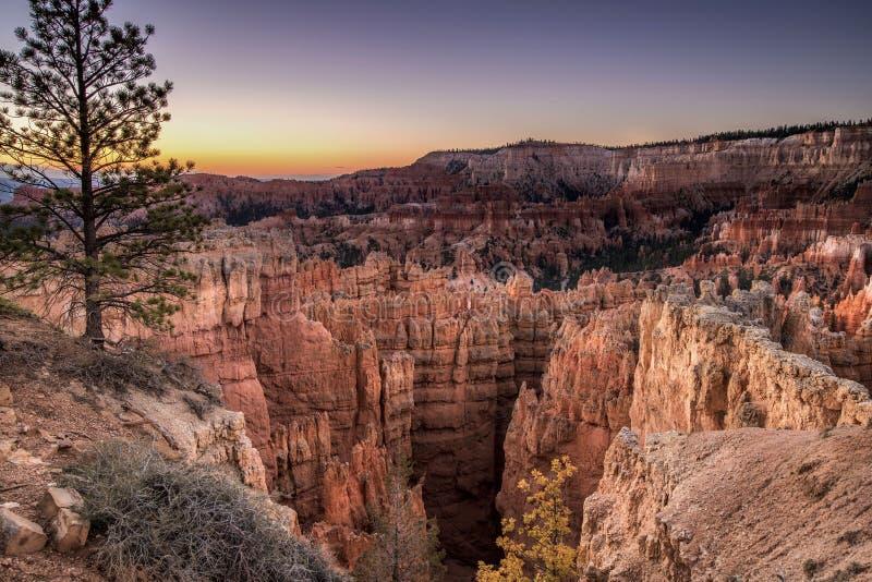 Lueur de canyon photographie stock libre de droits