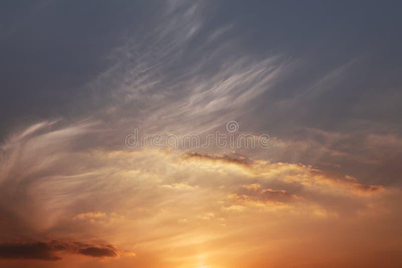 Lueur de coucher du soleil photographie stock