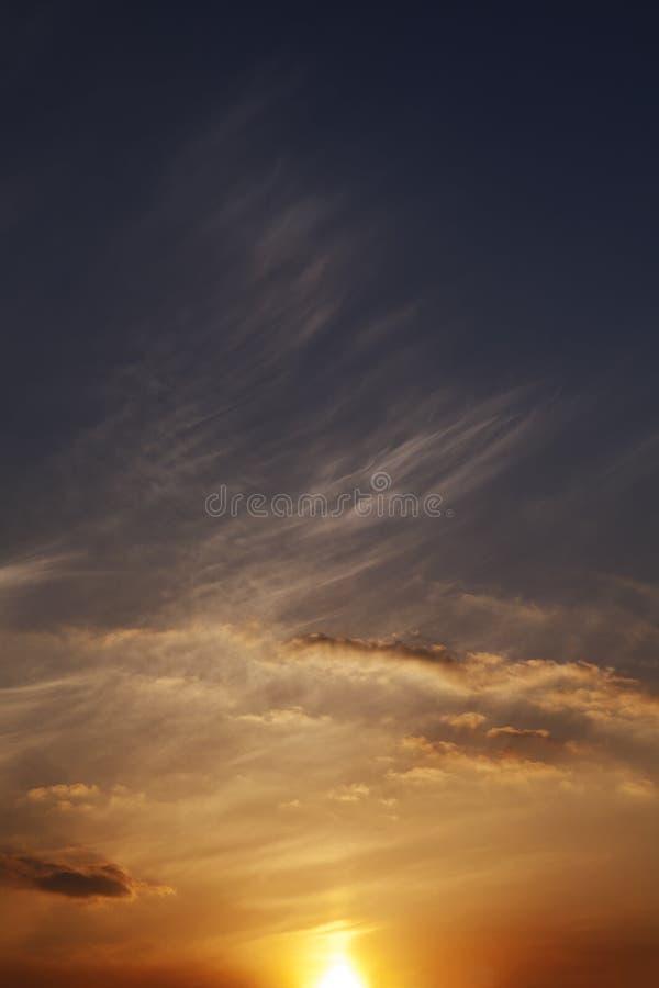 Lueur de coucher du soleil photos libres de droits