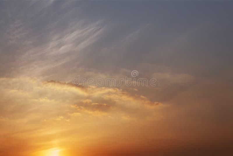 Lueur de coucher du soleil images stock