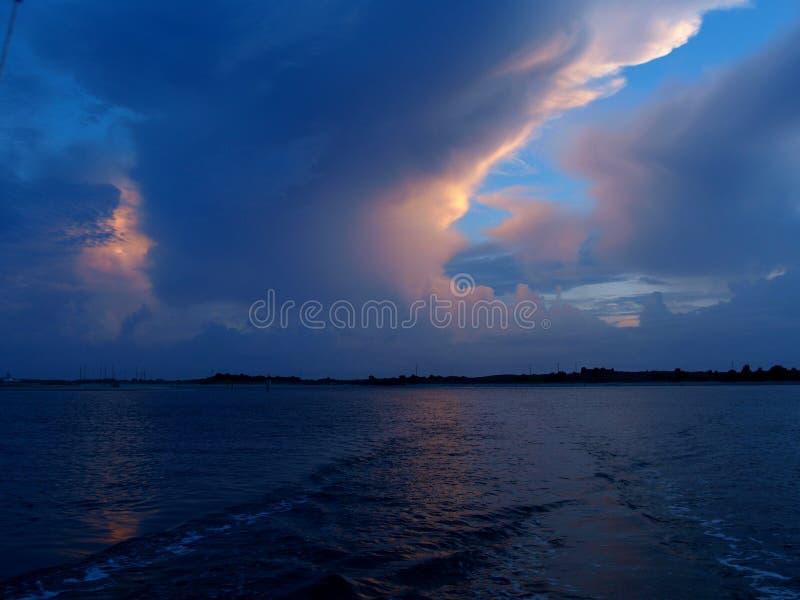 Lueur de nuage photo libre de droits