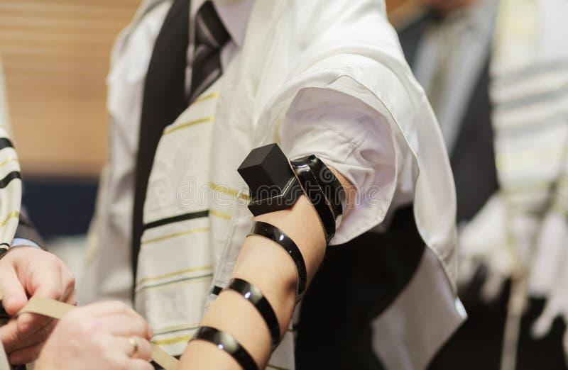 lueur saisonnière de scintillement de symbole de judaism de culture de vacances de tova juif juif de torah image libre de droits