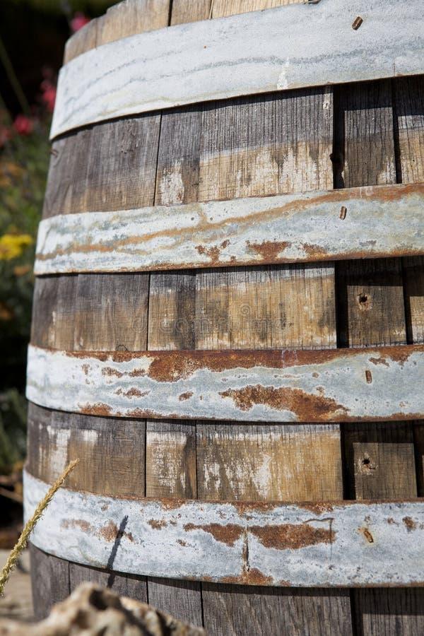 lufowa rdza niektóre drewniani obraz stock