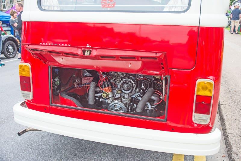 Luft abgekühlte VW-Maschine lizenzfreies stockbild