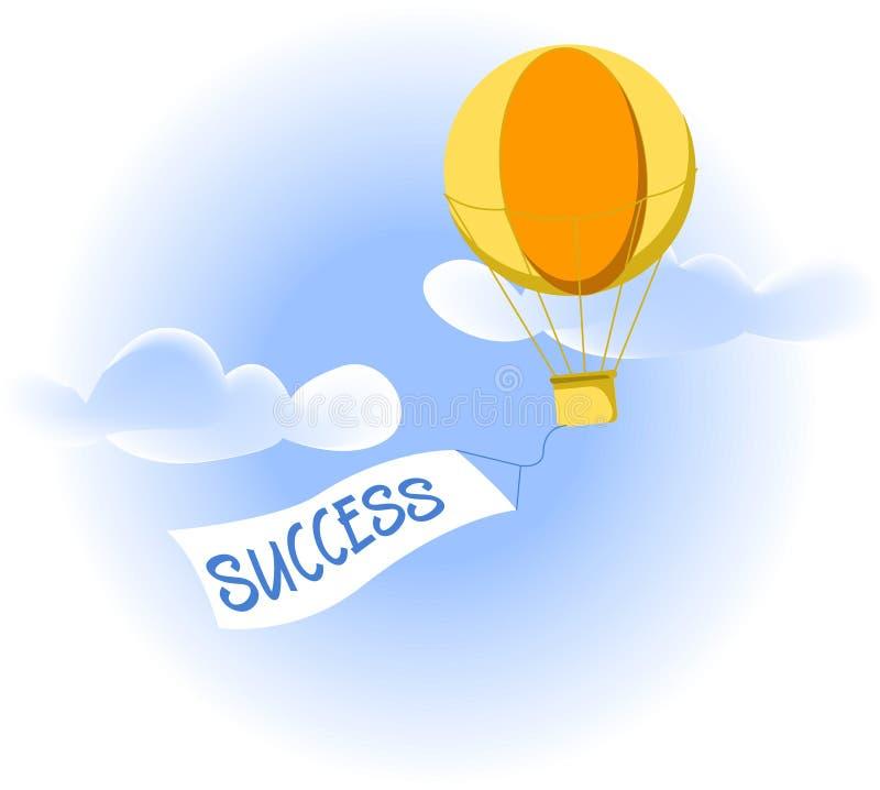 Luft-Ballon-Geschäft Lizenzfreies Stockbild