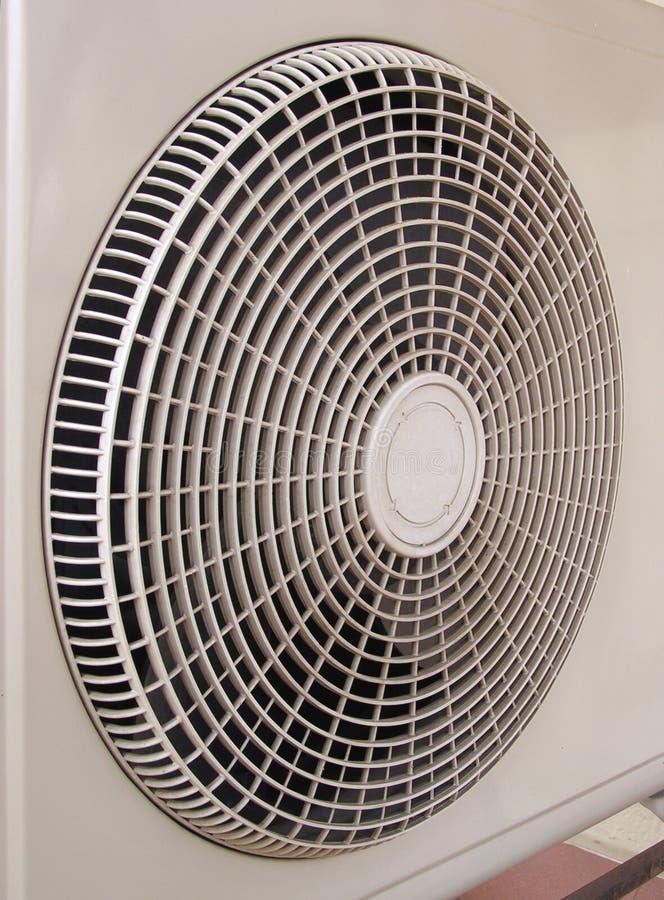 Luft-cond Luftanschluß Stockfoto