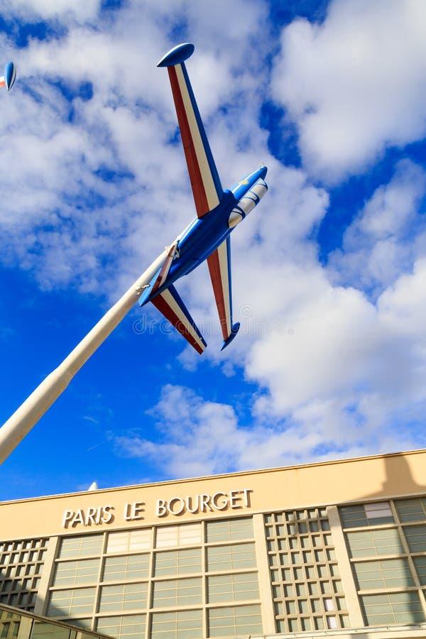 Luft- och utrymmemuseum Le Bourget, Frankrike royaltyfria foton