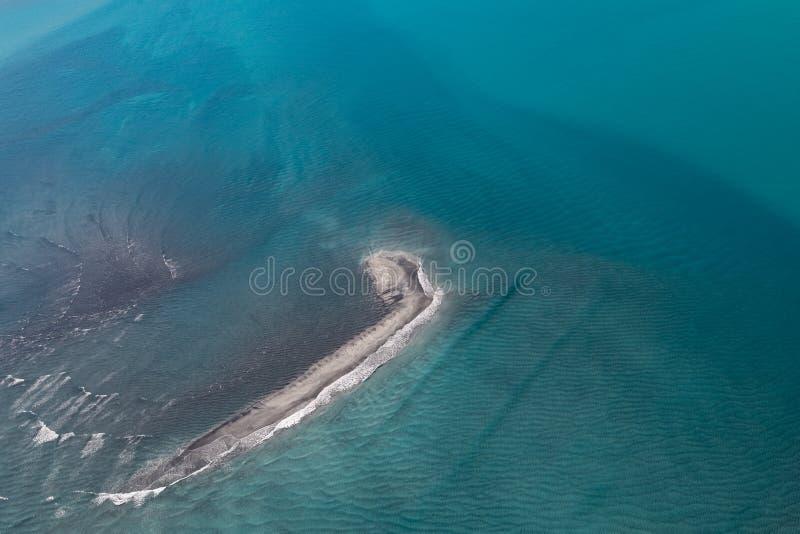 Luft- Schuss weg von der Rehbock-Bucht, Broome, West-Australien, Australien stockfoto