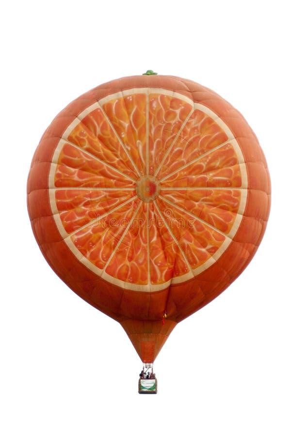 luft sväller den formade varma orangen royaltyfria foton