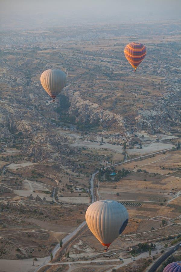 Download Luft Sväller Den Varma Cappadociaen Fotografering för Bildbyråer - Bild av utomhus, liggande: 78725465
