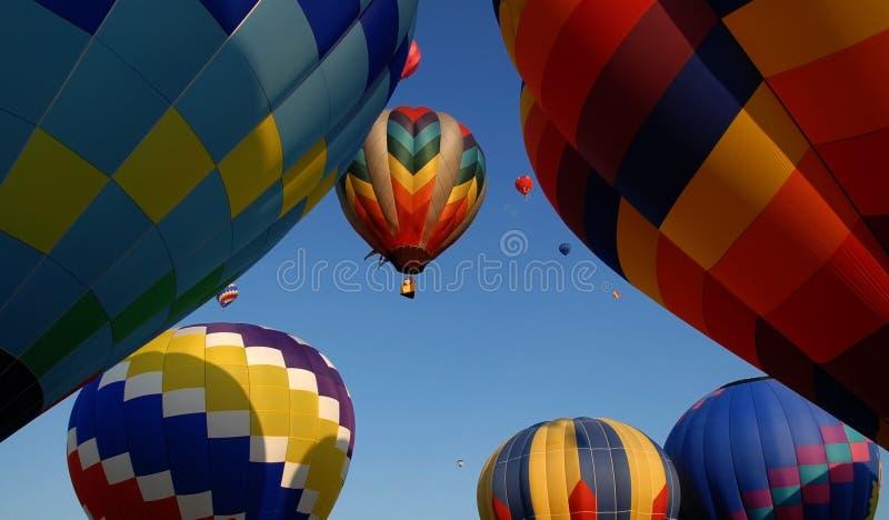 luft sväller varmt fotografering för bildbyråer