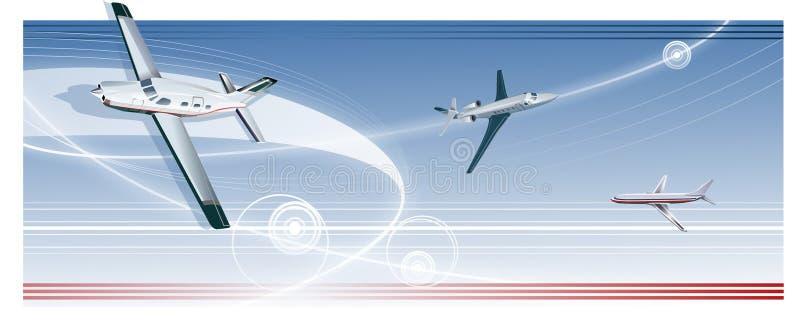 Luft-Transport stock abbildung