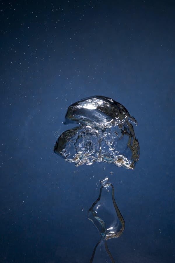 Luft und Wasser lizenzfreies stockbild