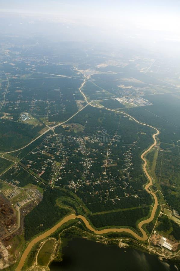 Luftaufnahme. lizenzfreie stockbilder
