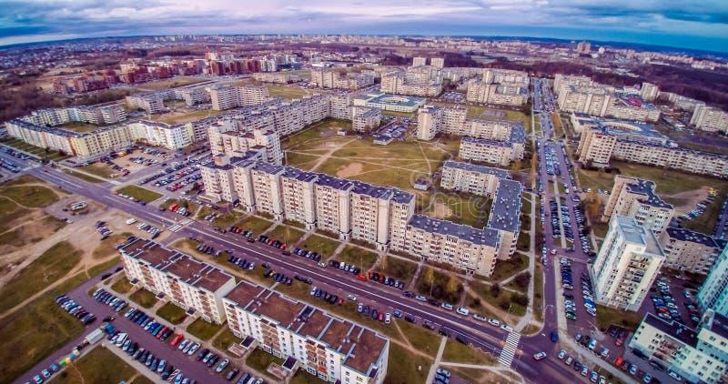 Luftaufnahme Vilnius lizenzfreies stockfoto