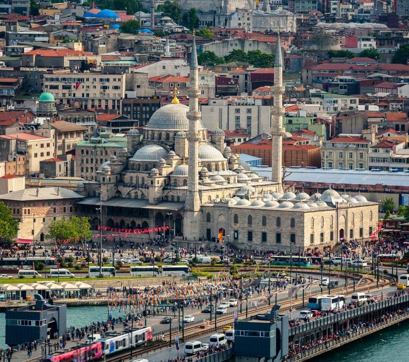 Luftaufnahme von Istanbul lizenzfreie stockfotos