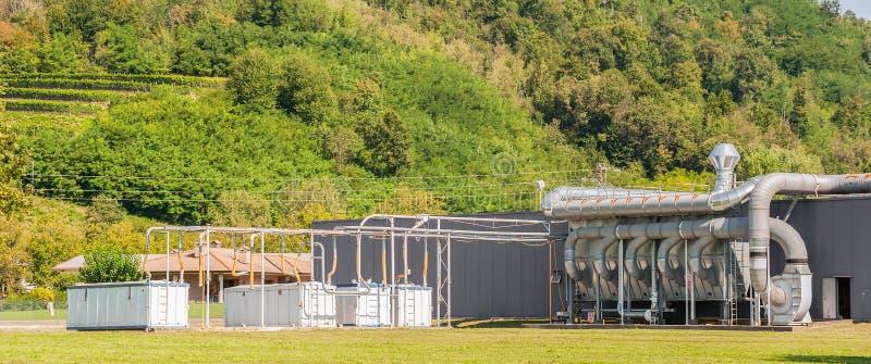 Luftbelüftung, Industrieanlage lizenzfreies stockfoto
