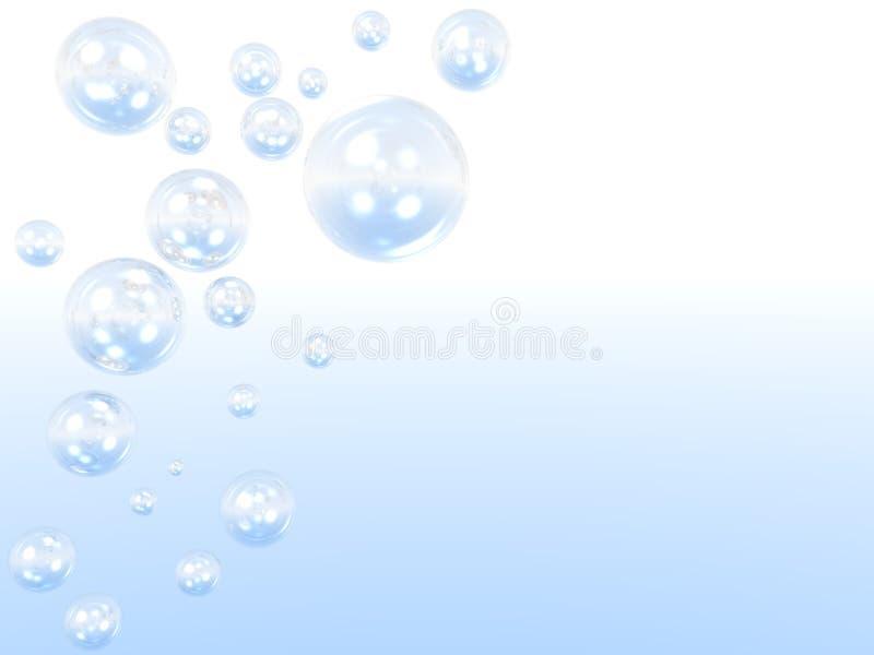Luftblasen lizenzfreie stockfotos