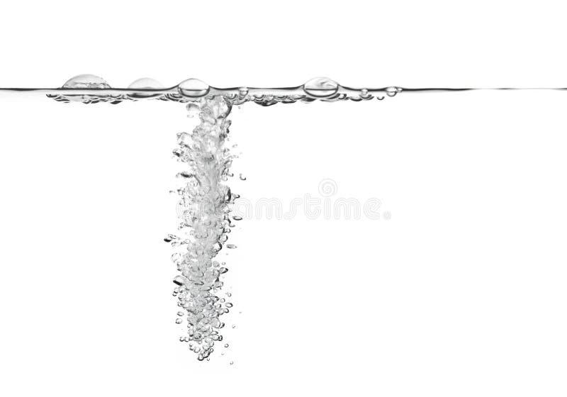 Luftblasen im Wasser lizenzfreie stockfotografie