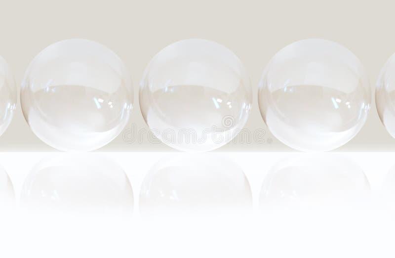 Luftblasenhintergrund stockfoto