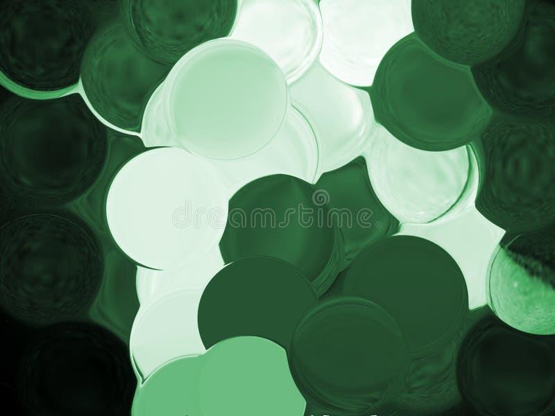 Luftblasenhintergrund lizenzfreie abbildung