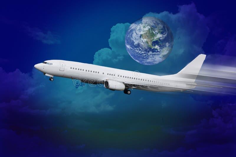luftflygplan arkivfoto