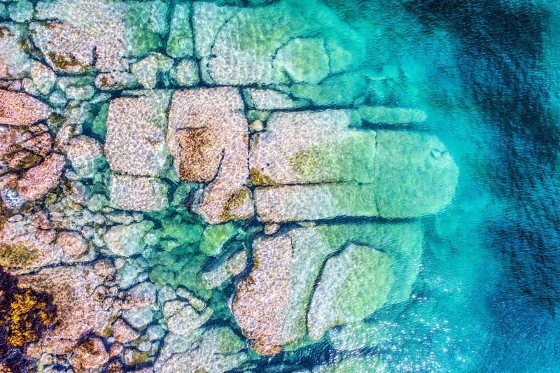 Luftfoto von Sydney - Lager-Bucht Watsons-Bucht lizenzfreie stockbilder