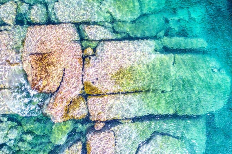Luftfoto von Sydney - Lager-Bucht Watsons-Bucht lizenzfreies stockfoto