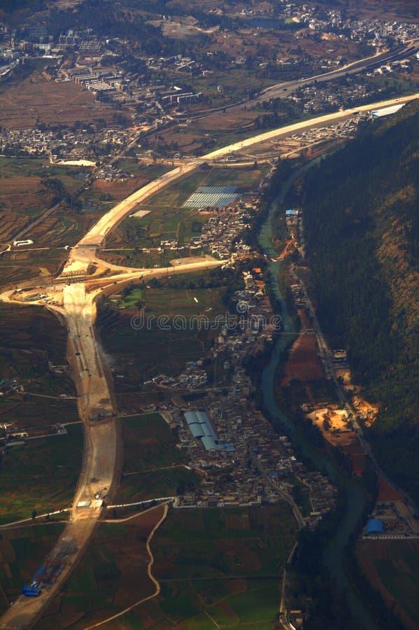 Luftfotographie lizenzfreies stockfoto