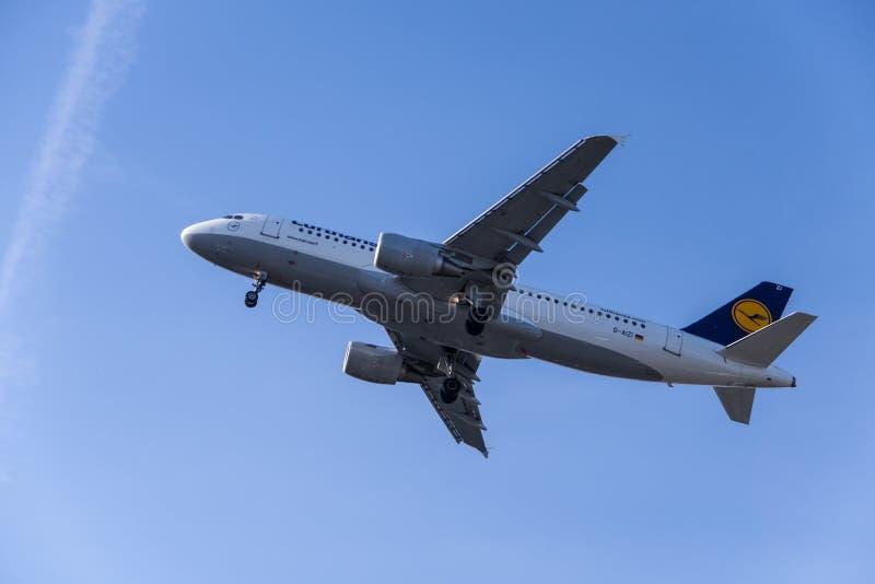 Lufthansa Εκδοτική Φωτογραφία