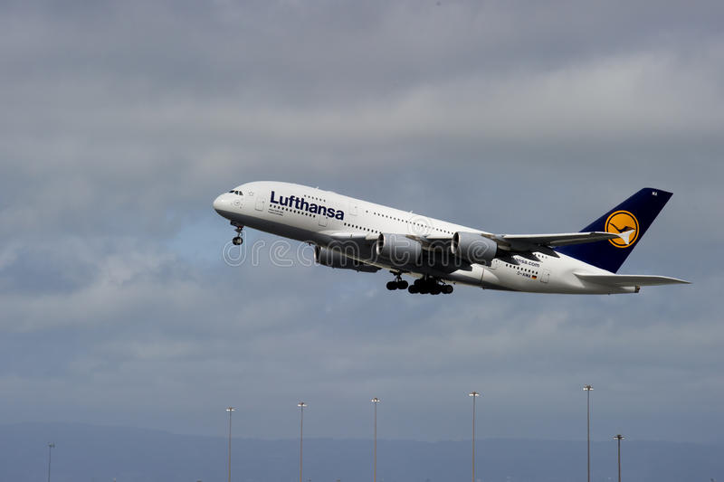 Lufthansa Airbus A380 Editorial Stock Image