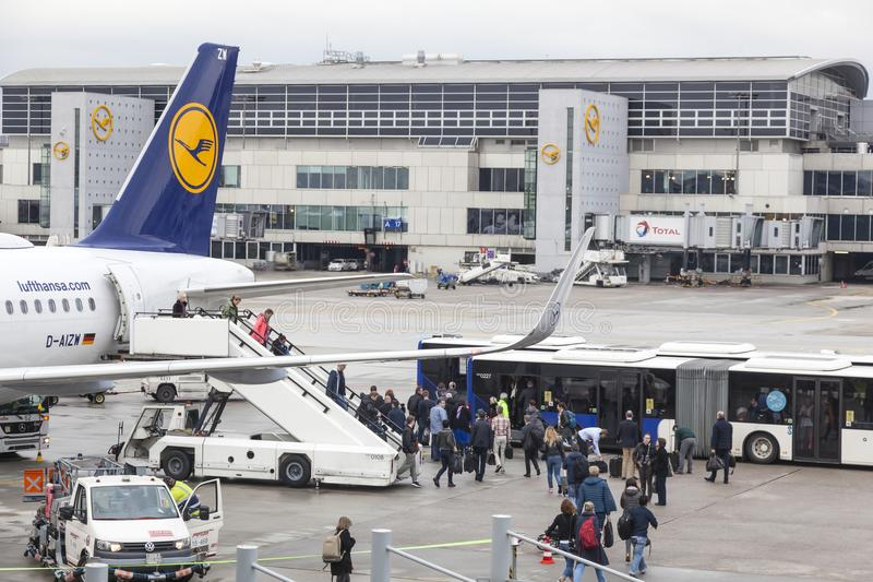 Flughafen Frankfurt Abflug Lufthansa