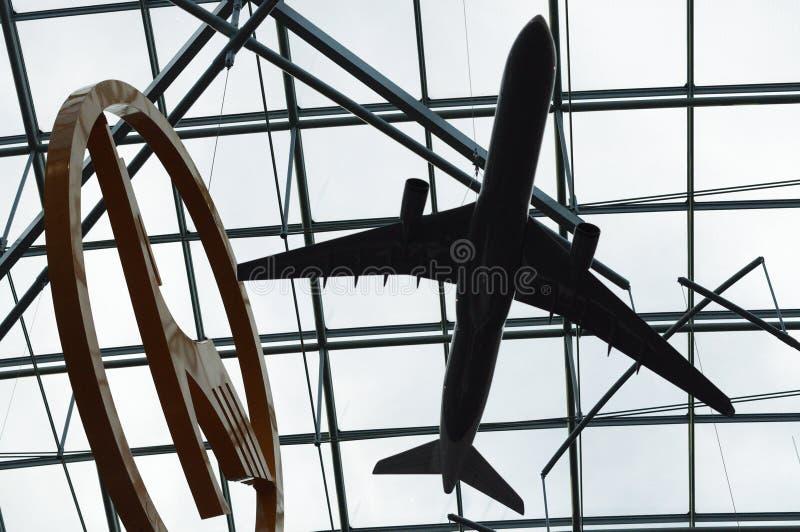 Lufthansa Logo stock photography
