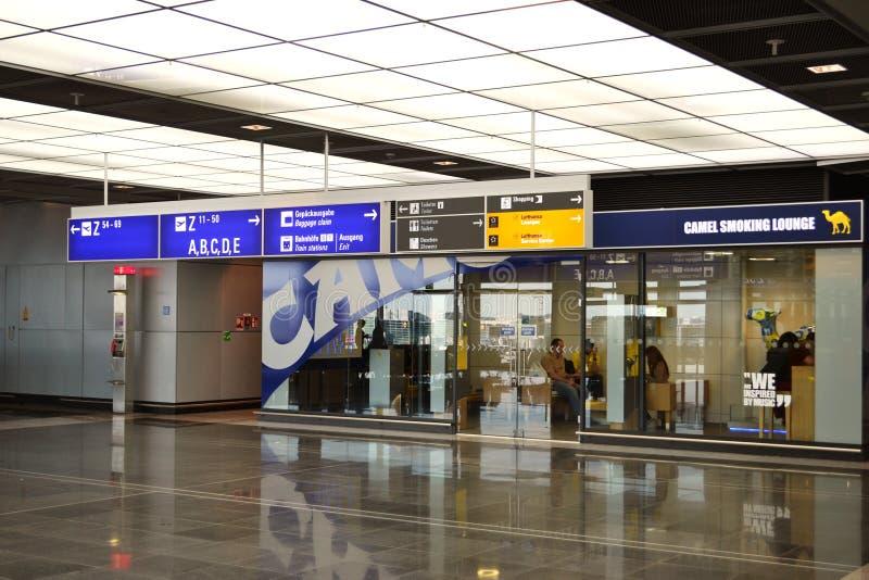 Lufthansa-Rauchsalon lizenzfreie stockfotografie