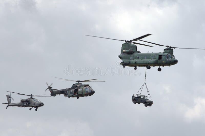 lufthelikopterström