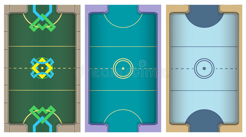 Lufthockeytabell royaltyfria bilder