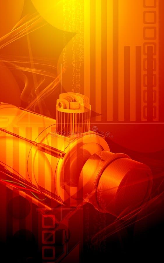 luftkompressor vektor illustrationer