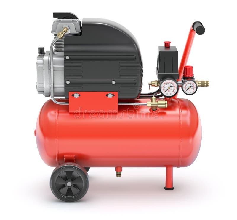 Luftkompressor vektor abbildung