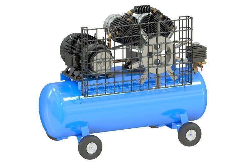 Luftkompressor royaltyfri illustrationer
