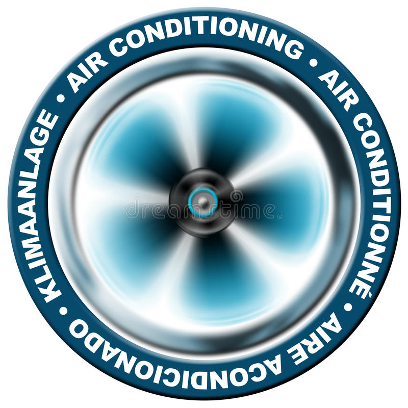 luftkonditionering vektor illustrationer