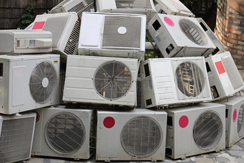 Luftkonditioneringsapparater royaltyfria bilder