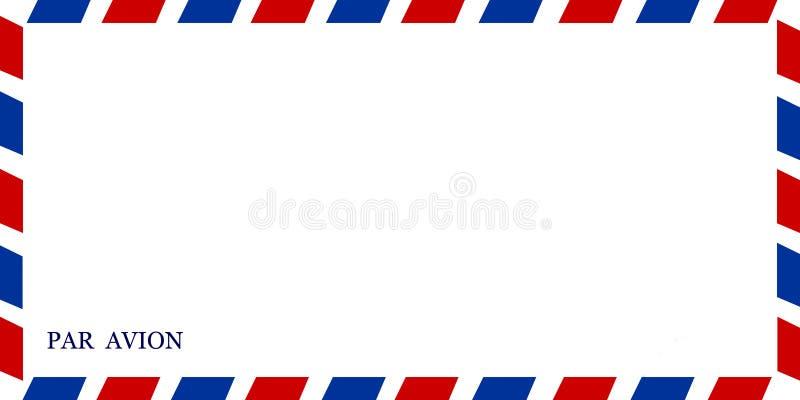 Luftpost lizenzfreie stockfotografie
