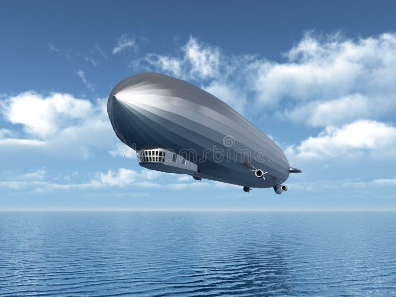 Luftschiff lizenzfreie abbildung