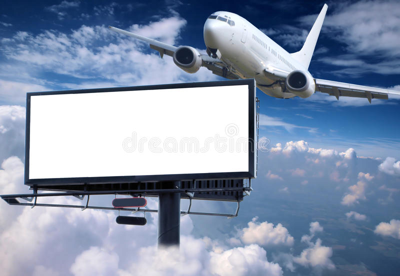Lufttransport stockfoto